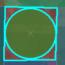 برش شیپ فایل با دایره( Cut Polygons With Circle Tool)